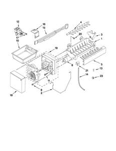 Picture of W10458985 Whirlpool Wiring Harness