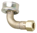 Dishwasher Elbow 3/8 Compression to 3/4 Water Hose W10273460