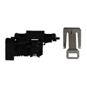 Whirlpool Dishwasher Door Latch and Strike Plate Assembly W10619006