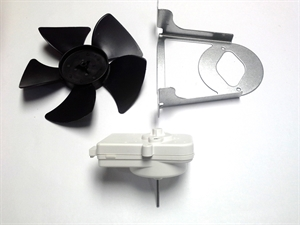 Whirlpool refrigerator condenser fan motor w10181323 for Ge refrigerator condenser fan motor not working
