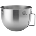 Whirlpool KitchenAid 5 Quart Stainless Steel Mixer Bowl Part # W10717235