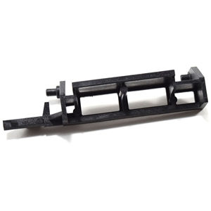 Picture of Viking Microwave Door Release Lever Part # MLEVPB016MRF0