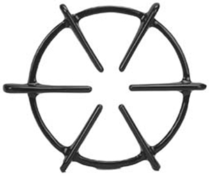 Picture of Cast Iron Burner Grate for Whirlpool Part # 8189747 (ER8189747)