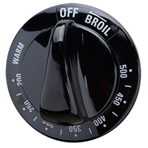 Oven Temperature Knob For Gepart Wb03k10185