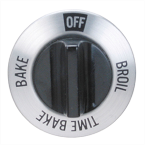Oven Temperature Selector Knob For Ge Part Wb3x474