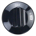 Oven Range Burner Knob for Whirlpool Part # 74003297 (ER74003297)