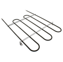 Oven Broil Element for Whirlpool Part # 258107 (ERB987)