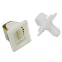 Dryer Door Latch Strike for Whirlpool Part # 306436 (ER306436)
