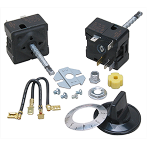 Picture of Heavy Duty Commercial-use Infinite Burner Switch Kit for Robertshaw Part # 5500-134  (ER5500134)
