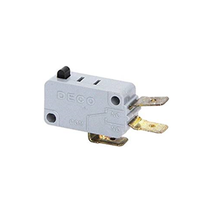 Picture of Microwave Button Switch  for Sharp Part # 400531 NO/NC 2 TAB 16AMP R23ET (28QBP0496)