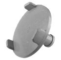 Microwave Turntable Coupling for Sharp Part # R9H71B (80QBP85680)