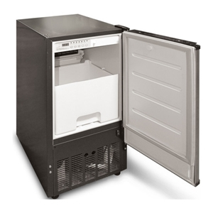 "Picture of IM70 Air-Cooled 70 Lb per Day 14 7/8"" Undercounter Commercial Ice Machine"