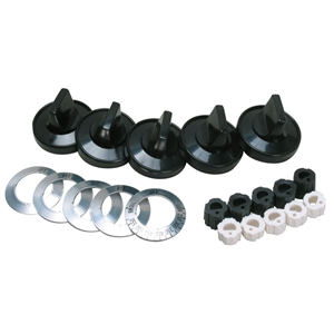 Picture of Aftermarket Knob Kit, Universal Gas Range Part # KN001