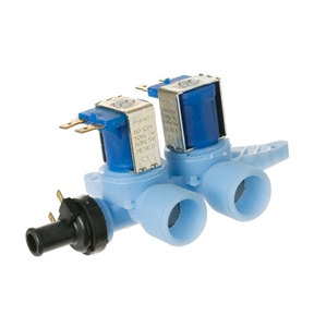 Picture of GE Washer Water Valve w / Thermistor Part # WH13X10006