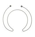 General Electric Dishwasher Heating Element Part # WD05X21716
