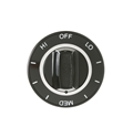 General Electric Range Burner Knob Part # WB3K5069