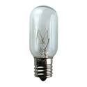 25 Watt Tubular Appliance Light Bulb 130V