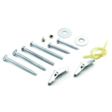 Whirlpool Microwave Hardware Mounting Kit Part # W10821385
