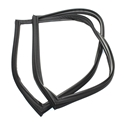 Fresh Food Refrigerator Door Gasket (Black) for GE Part # WR24X10237