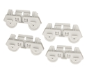 Appliance Repair Part For Whirlpool Rack Roller  Dishwasher Part # WPW10261335 (4 Pack)