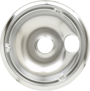 """Picture of GE 8"""" Chrome Drip Pan WB31K5025"""