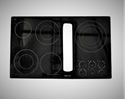 Whirlpool Cooktop Main Top Assembly (Black) W10162422