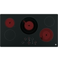GE Cooktop Main Top and User Interface Control WB62X26844